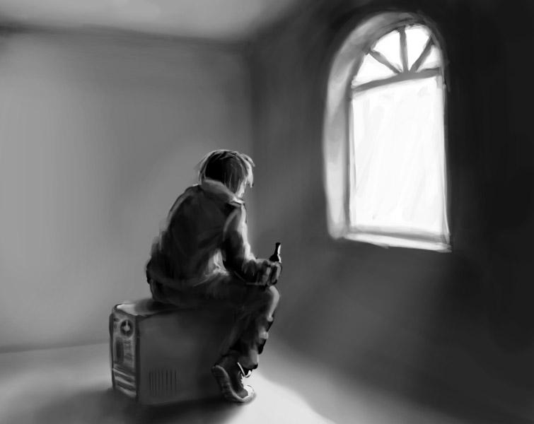 Одиночество и страх смерти